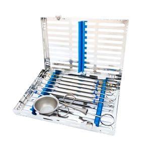 Set instrumentos de cirugía oral